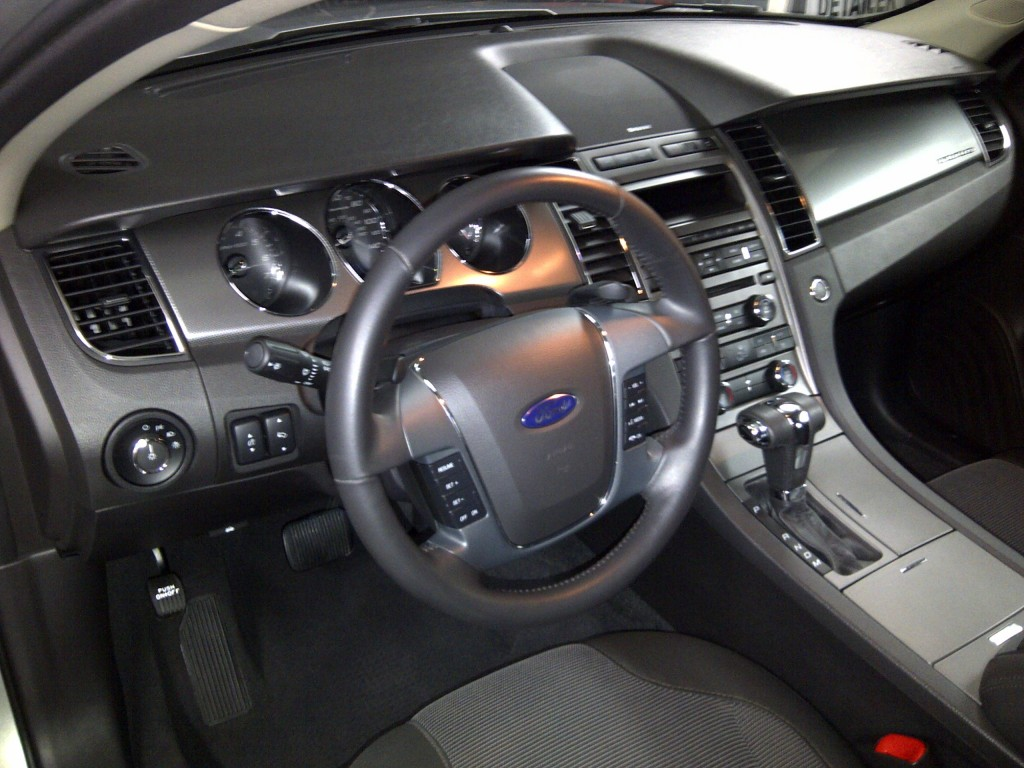 Newly detailed interior